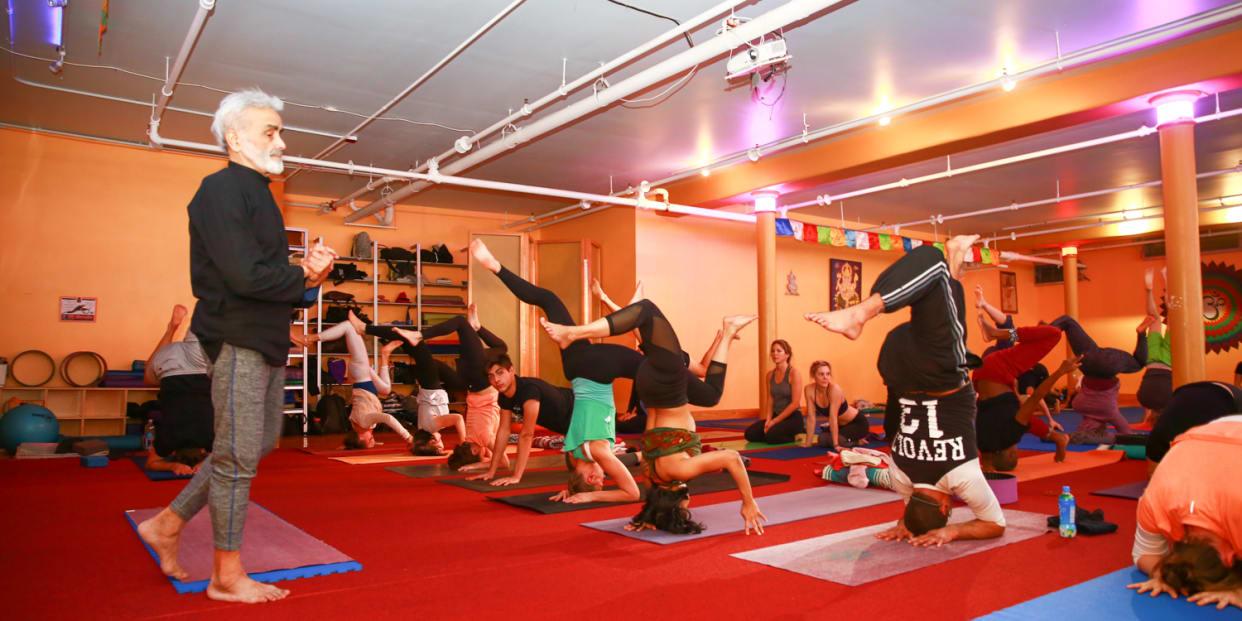 Master Sadhana W Sri Dharma Mittra Please Pre Register At Dharma Yoga New York Center Read Reviews And Book Classes On Classpass