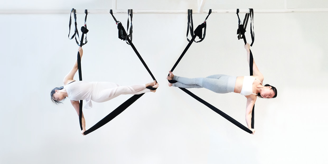 Best 20 Aerial Yoga Classes For Beginners in Singapore 2020